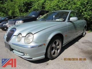 2002 Jaguar S-Type 4 Door
