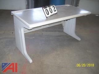 (16) PVC Computer Tables