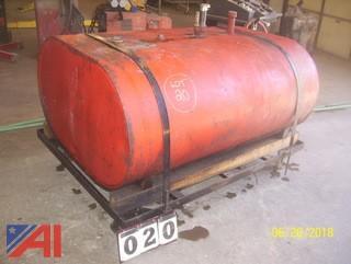 275 Gallon Waste Oil Tank