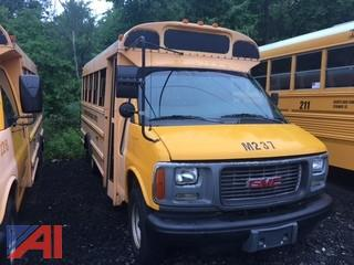 #237 2002 GMC Savana Corbeil School Bus