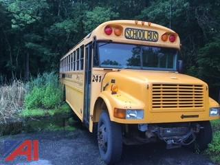 #241 2005 International Blue Bird 3800 School Bus