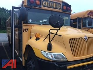 #247 2007 International Blue Bird 3300 School Bus