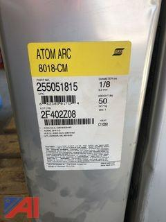 "**Reserve Lowered** 1/8"" ESAB Atom Arc 8018-CM Electrodes"