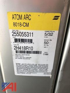"**Reserve Lowered** 5/32"" x 14"" ESAB Atom Arc 8018-CM Electrodes"
