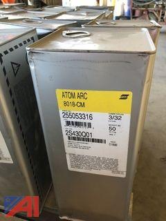 "3/32"" x 14"" ESAB Atom Arc 8018-CM Electrodes"