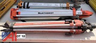 **Reserve Lowered** (3) Surveying Tripods