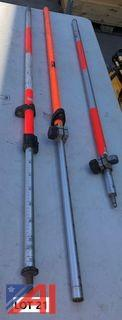 **Reserve Lowered** (3) Surveying Rods