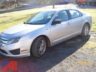 2010 Ford Fusion 4 Door