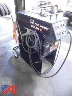 Solar 2175 Wire Fed Gas Mig Welder
