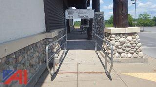 Metal Shopping Cart Holder/Return