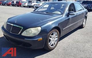 2003 Mercedes-Benz S430 4 Door