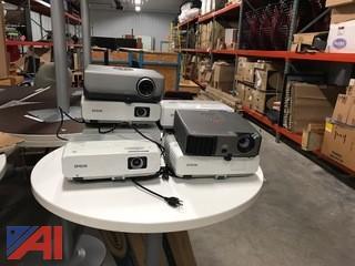 (8) Video Projectors