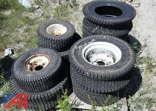 Assorted Lawn Mower Tires