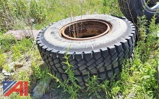 (2) Drive Tires