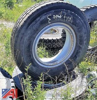 (2) New Steer Tires