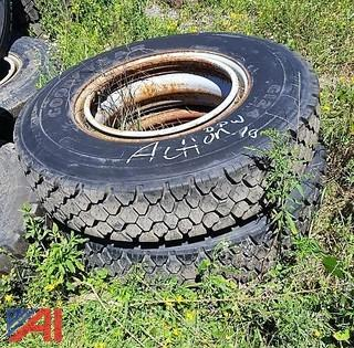 (2) New Drive Tires