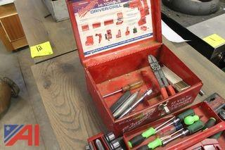 Milwaukee Tool Box and Contents