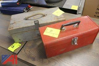 (2) Tool Boxes and Contents