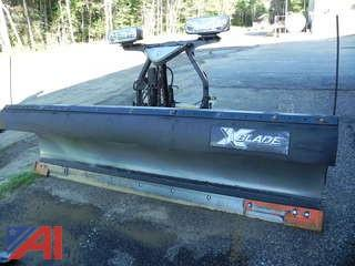 (1) Fisher X-Blade SS 9ft Plow