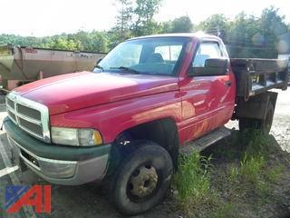2001 Dodge Ram 3500 Pickup Dump Truck