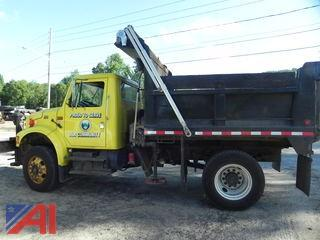2002 International 4700 Dump with Plow/Sander