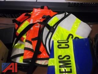 Various Command Post Assignment Vests