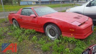 1987 Pontiac Firebird 2DSD