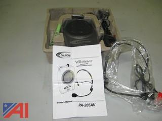 Califone Voice Saver PA-28AV - Personal PA System