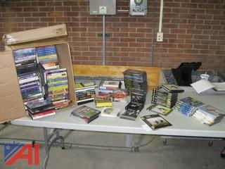 Workout Exercise DVDs and CD's