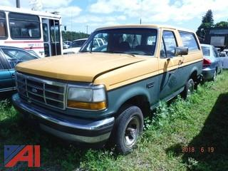 1993 Ford Bronco 2 Door (Parts  Only)