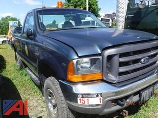 2000 Ford F350 Pickup (Parts Only)