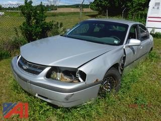 2001 Chevrolet Impala 4 Door (Parts Only)
