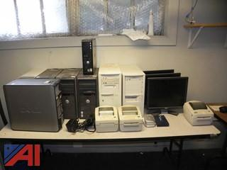 Computers, Monitors & Other Miscellaneous Network Gear