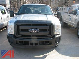 2012 Ford F350 SD Crew Cab Pickup