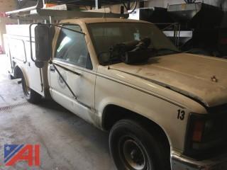 1998 GMC 2500 Utility Truck