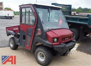 2012 Kawasaki Mule 4010 Utility Vehicle with Plow