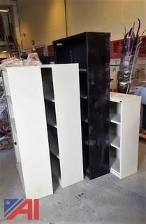 (4) Metal Shelving Units
