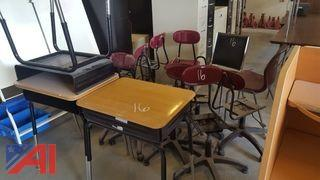 Assorted School Furniture