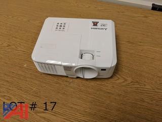 (2) Mitsubishi EX241U Projectors