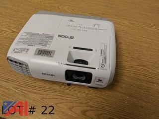 (2) Epson Powerlite 98 Projectors