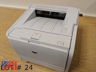 (2) HP Laserjet P2035N Printers