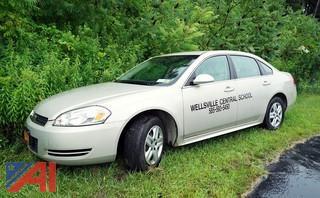 2010 Chevy Impala 4 Door Sedan