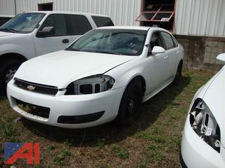 2013 Chevy Impala 4 Door/Police Vehicle