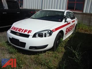 2012 Chevy Impala 4 Door/Police Vehicle