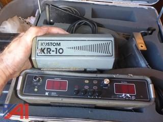 Kustom Signals/Electronics KR-10SP Radar Detector in Hard Case