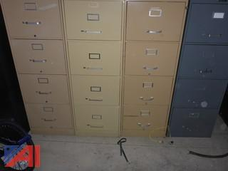 (4) File Cabinets