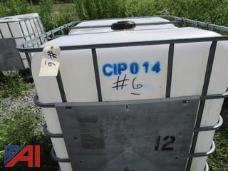 Cube 300 Gallon Liquid Holding Tank