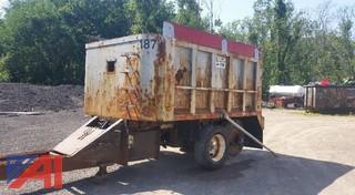 2001 J & J Dump Truck Pup Trailer