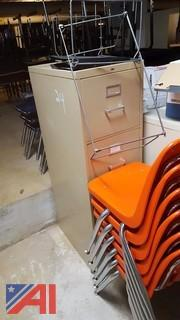 (4) 4-Drawer Filing Cabinets
