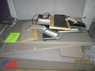 (4) Pallets of Office Dividers, Desktops and Set Up
